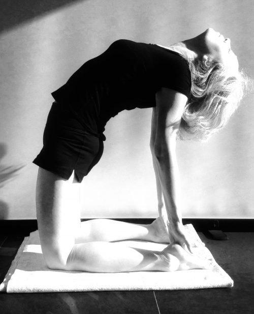 Iyengar Yoga Ustrasana